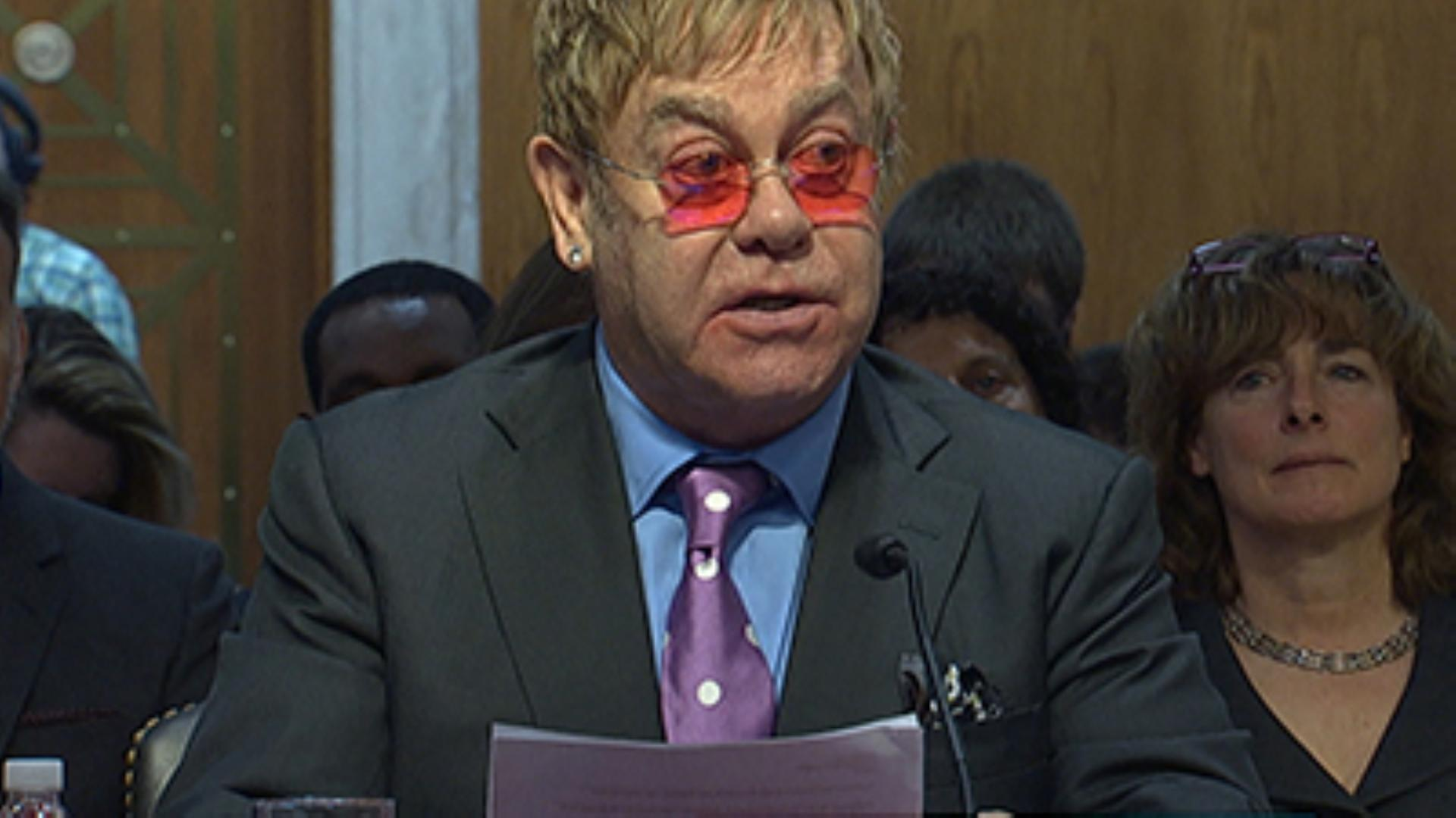 Elton John: 'AIDS Epidemic Not Over'