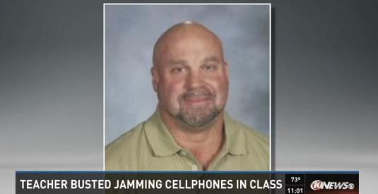 Science teacher suspended for using jammer to shut up students' cell phones