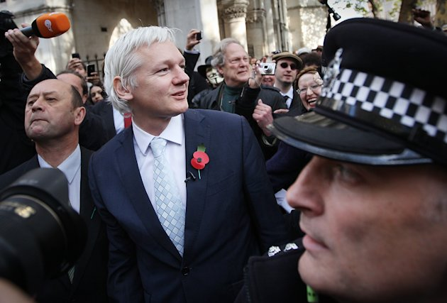 Julian Assange Discovers The Ruling Of His Extradition Appeal