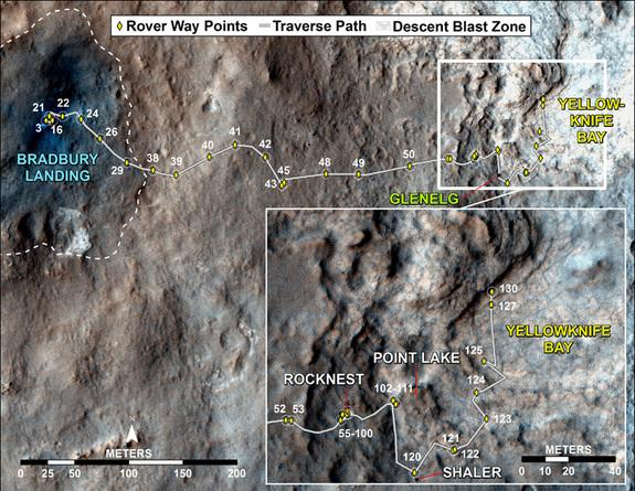 Mars Rover Curiosity Spends Holidays at 'Grandma's House'
