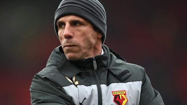 Gianfranco Zola has guided Watford into promotion contention