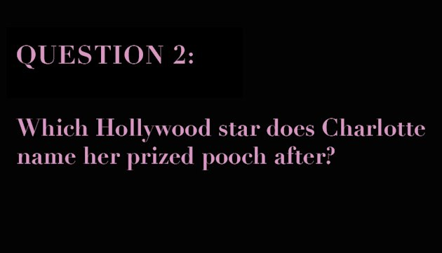 sex and the city quiz question slide 2