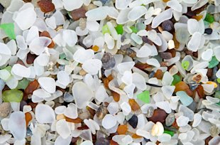 Glass Beach in Ft. Bragg, California (Photo: Visit Mendocino County)