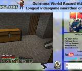 Man plays Minecraft for 35 hours in world record attempt