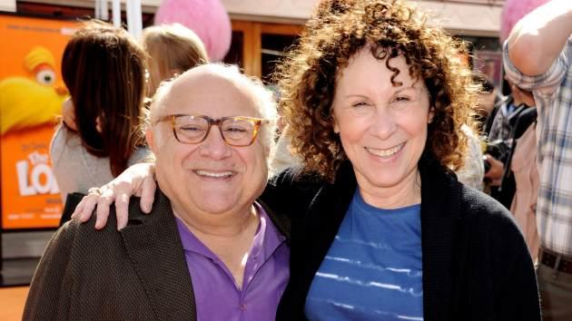 Danny DeVito and Rhea Perlman arrive at the premiere of 'Dr. Seuss' The Lorax' at Citywalk in Universal City, Calif. on February 19, 2012 -- Getty Images