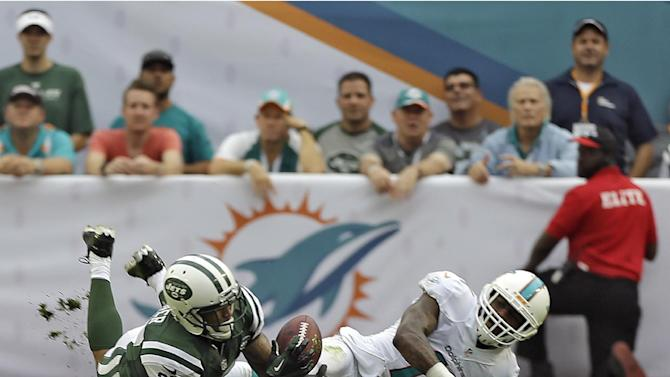 Dolphins miss playoffs with 20-7 loss to Jets
