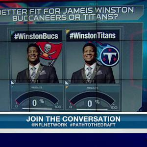 Better fit for quarterback Jameis Winston: Tampa Bay Buccaneers or Tennessee Titans?