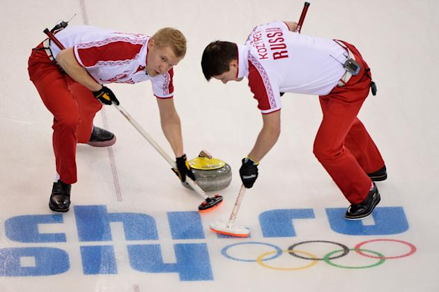 Curling - Winter Olympics Day 4
