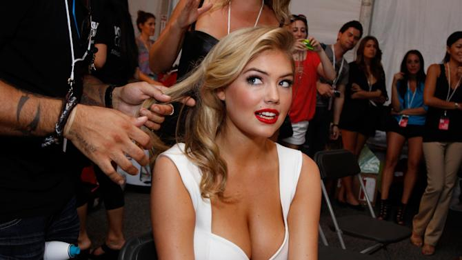 Make Up For Ever at Beach Bunny Swimwear - Backstage - MBFW Swim 2012