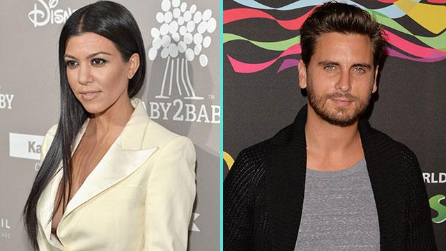 Kourtney Kardashian and Scott Disick Cheerfully Shop With Son Mason -- See the Pics!