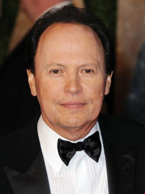 Billy Crystal was full of jokes as usual.