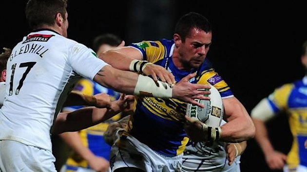 Ian Kirke, right, has agreed a new two-year deal at Leeds