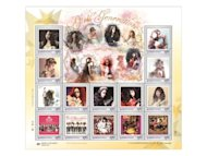 SNSD to be the first stars featured on stamps