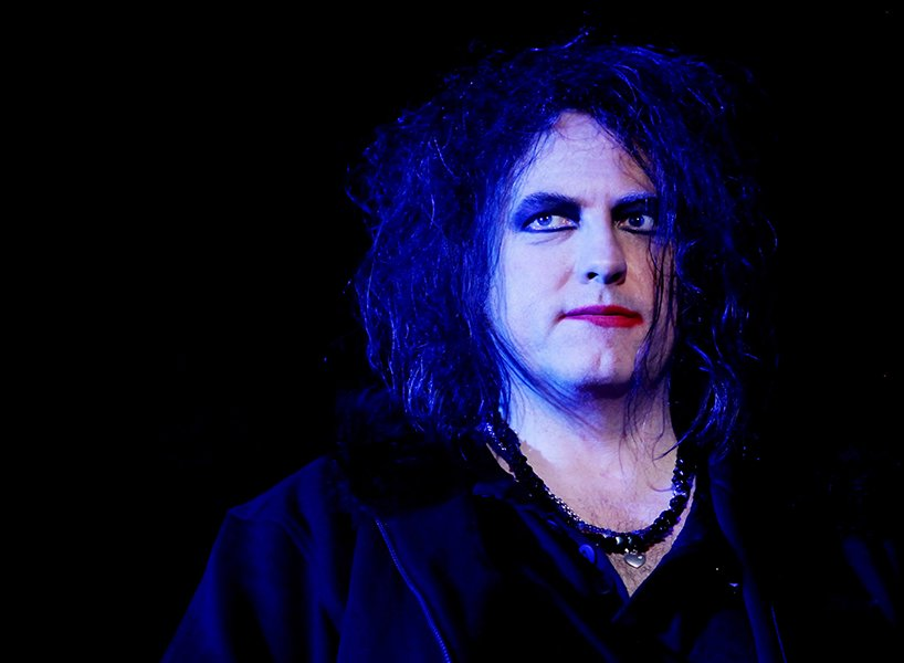 Robert Smith at Coachella in 2009