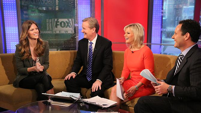 Brooklyn Decker Visits Fox And Friends