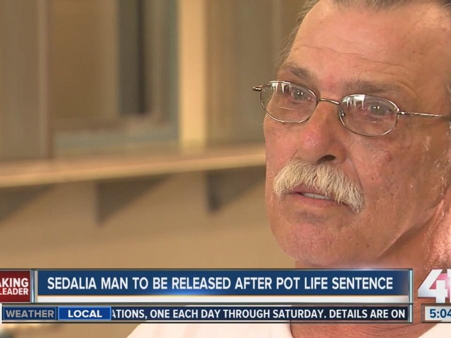 Man who got life for marijuana charge goes free in Missouri