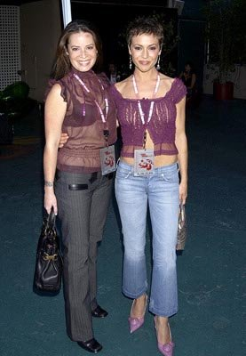 Holly Marie Combs, Alyssa Milano Teen Choice Awards - 7/2/2003