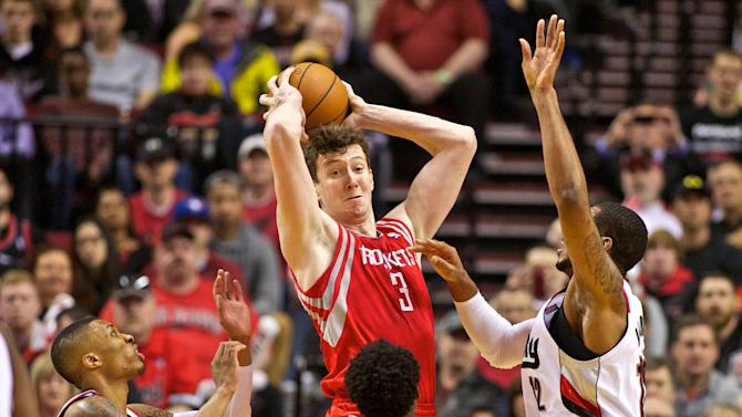 NBA: Playoffs-Houston Rockets at Portland Trail Blazers