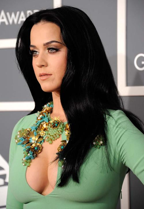 Katy Perry en los Grammy 2013