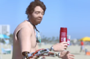 Old Spice's new spokesman is a creepy humanoid robot