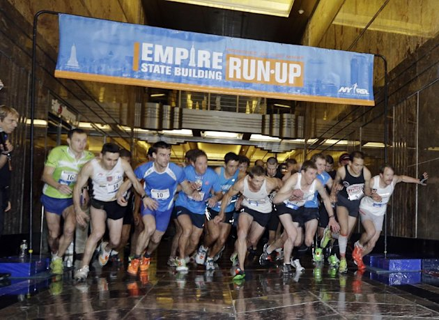 Empire State Building Run Up 2014