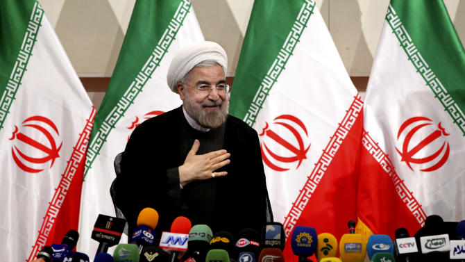 Iran's president-elect criticizes outgoing leader