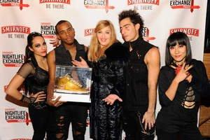 Madonna Selects Winner of Smirnoff Nightlife Exchange Project Global Dance Search
