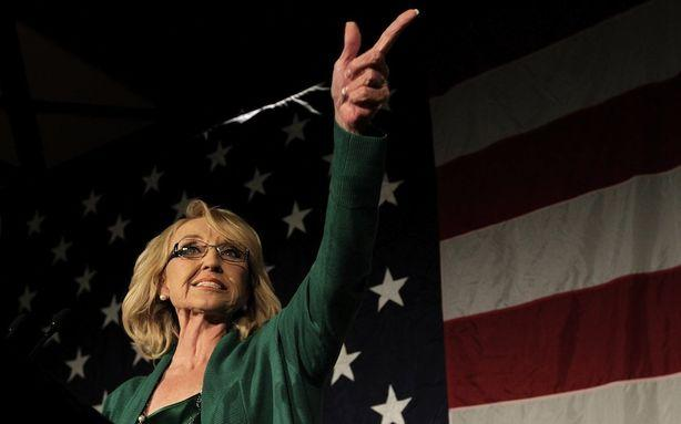 Warning: Jan Brewer Gets Punchy When Asked About Global Warming
