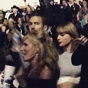 Taylor Swift and Calvin Harris Show PDA at Kenny Chesney Concert