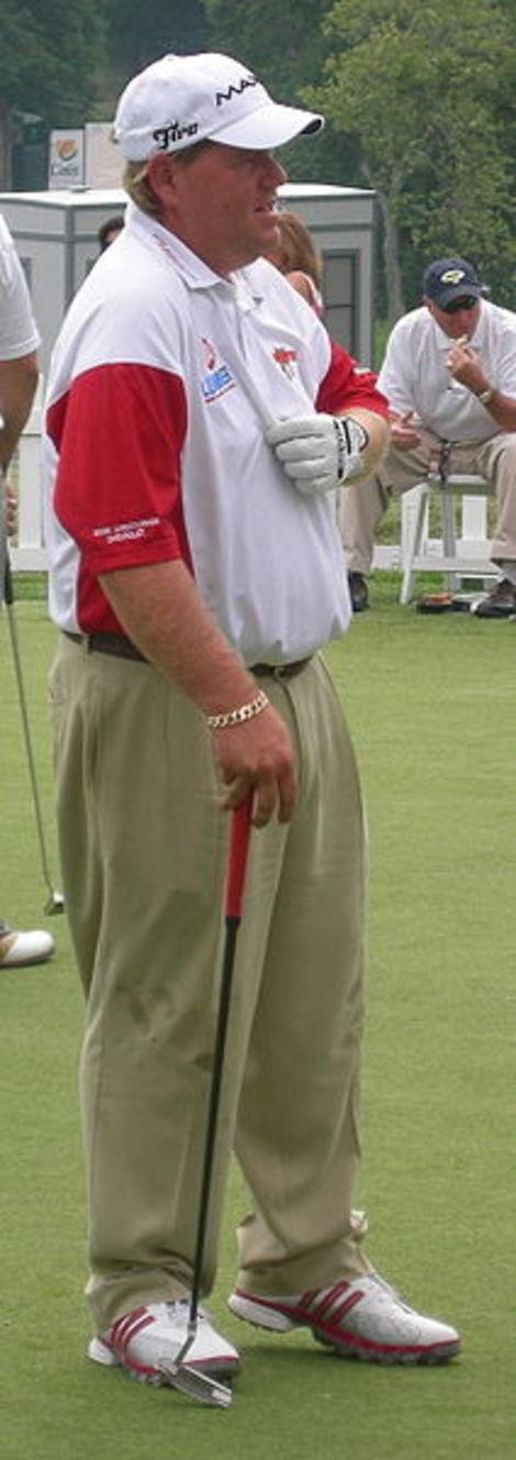 John Daly is out with an elbow injury.