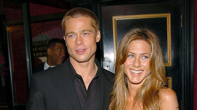 Pitt Aniston Troy Premiere
