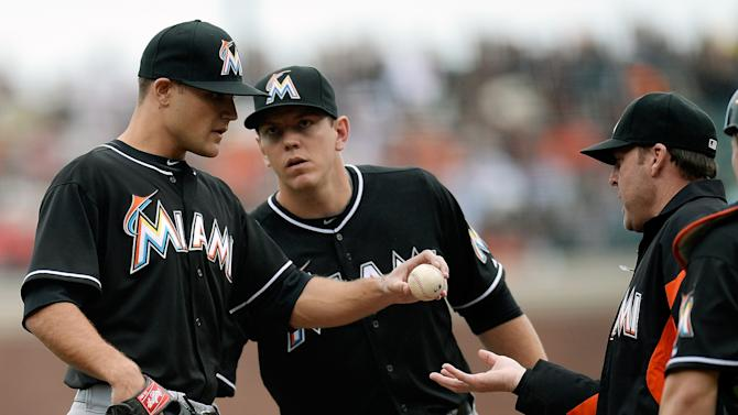 Miami Marlins v San Francisco Giants
