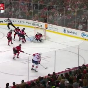 Keith Kinkaid Save on Alex Petrovic (09:35/2nd)