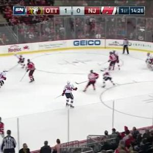 Craig Anderson Save on Andy Greene (05:36/1st)