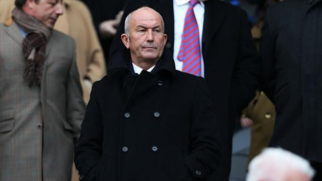 Crystal Palace manager Tony Pulis (PA)