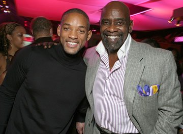 Will Smith and Chris Gardner at the Los Angeles premiere of Columbia Pictures' The Pursuit of Happyness