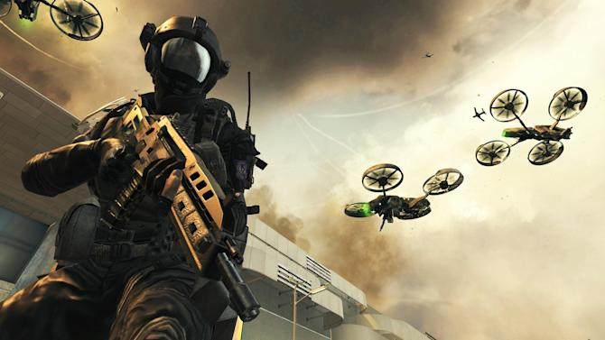 """This undated publicity photo released by Treyarch/Activision-Blizzard Inc. shows a scene from the video game, """"Call of Duty: Black Ops II."""" (AP Photo/Treyarch/Activision-Blizzard Inc.)"""