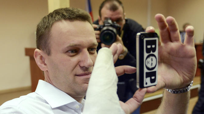 Trial for Russian opposition leader adjourned