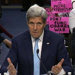 Kerry defends ISIS plan as House approves rebel arms
