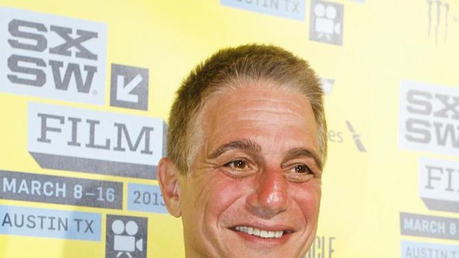 "Tony Danza arrives at a screening of ""Don Jon's Addiction at the SXSW Film Festival, on Monday, March 11, 2013 in Austin, Texas. (Photo by Jack Plunkett/Invision/AP Images)"