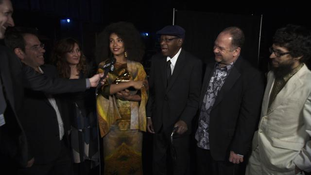 Esperanza Spalding - Backstage Thank You