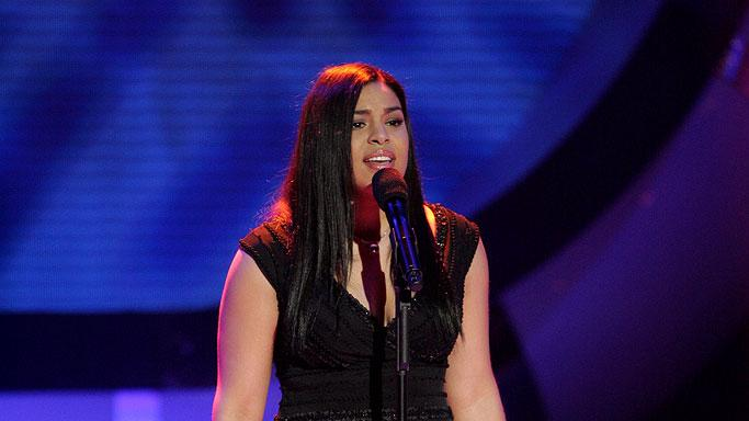 Jordin Sparks performs as one of the top 11 contestants on the 6th season of American Idol.