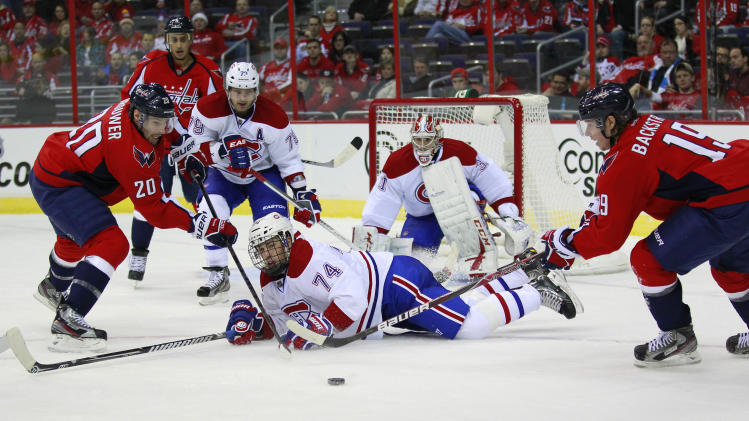 NHL: Montreal Canadiens at Washington Capitals