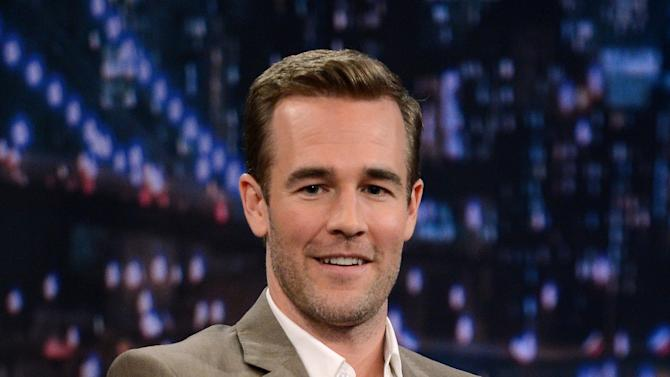 "James Van Der Beek Visits ""Late Night With Jimmy Fallon"""