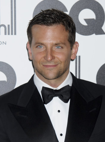 "FILE - In this Sept. 6, 2011 file photo, actor Bradley Cooper arrives for the GQ Men of the Year Awards in London. Cooper was named ""People"" magazine's sexiest man alive. (AP Photo/Jonathan Short, file)"
