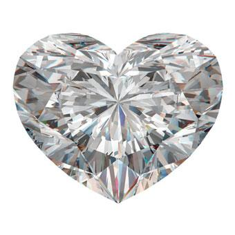Diamond Shape: Heart