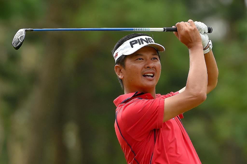 Home stars Lin, Hung take lead in Taiwan's Yeangder tournament