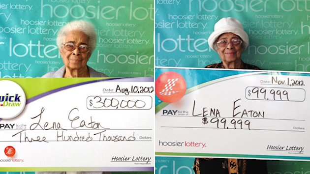 91-Year-Old&#39;s Luck: 2 Months, 2 Lottery Wins (ABC News)