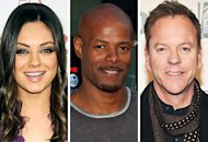 Mila Kunis, Keenan Ivory Wayans, Kiefer Sutherland   | Photo Credits: Gregg DeGuire/FilmMagic, Chelsea Lauren/WireImage, Theo Wargo/WireImage