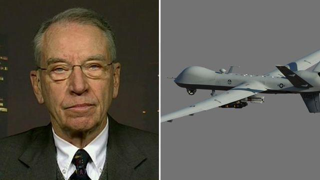 Grassley: Obama dodging questions on drone program